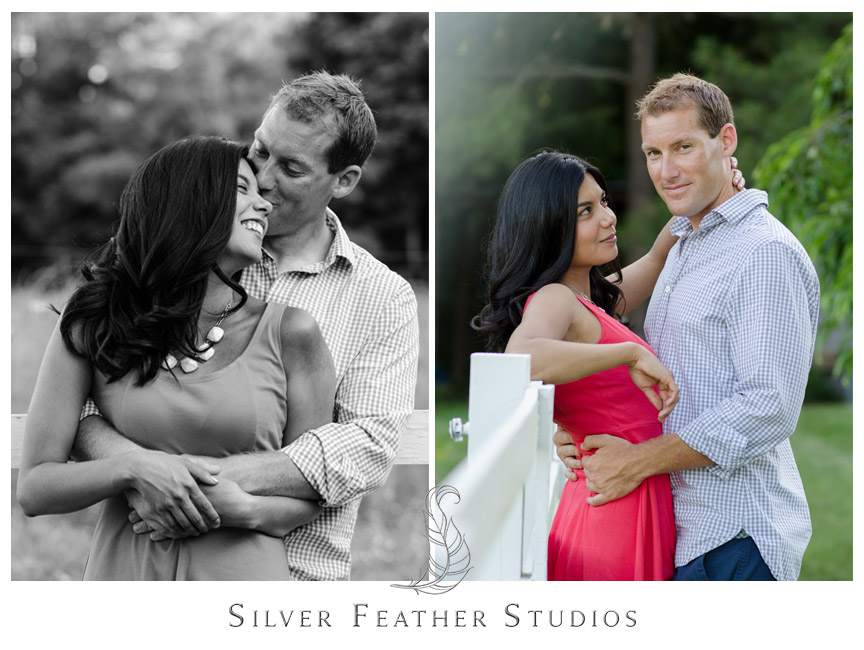 A Chapel Hill farm house engagement by Silver Feather Studios