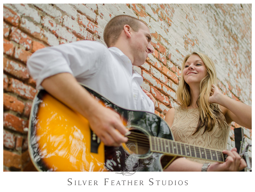 A Downtown Wilmington Engagement Session by Silver Feather Studios