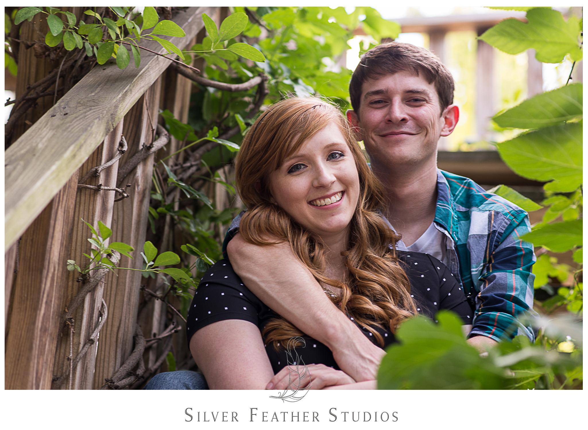 Engagement session in Winston Salem, NC by Winston Salem wedding photographers.