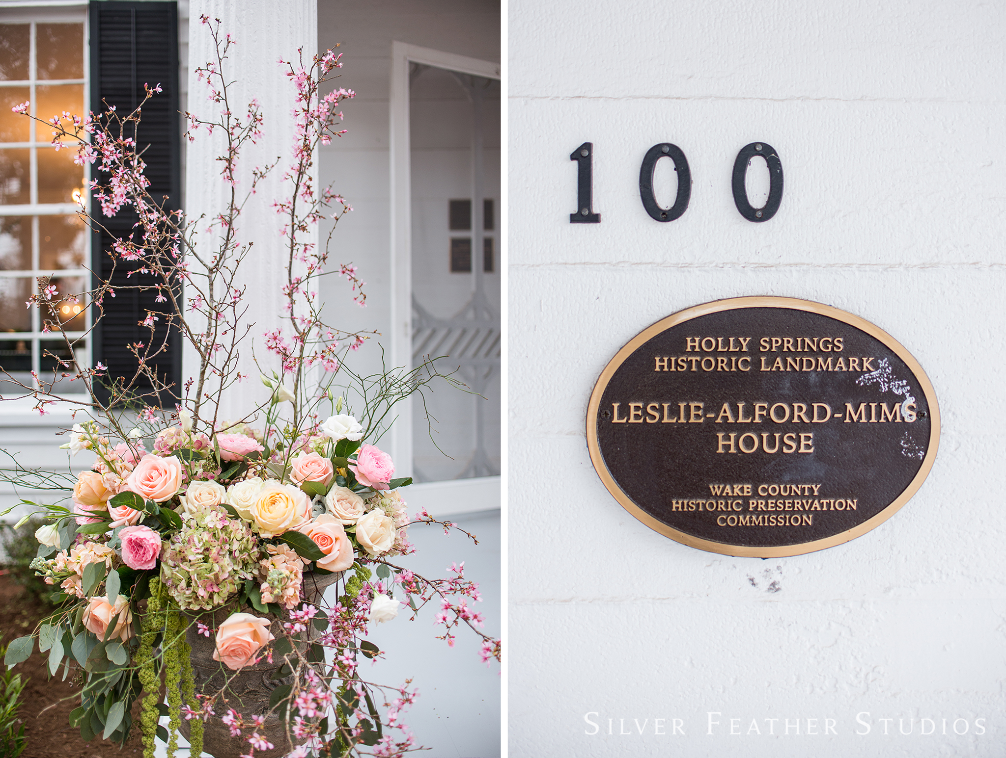 Grand opening party of the recently restored historic landmark, the Leslie Alford Mims House. © Silver Feather Studios