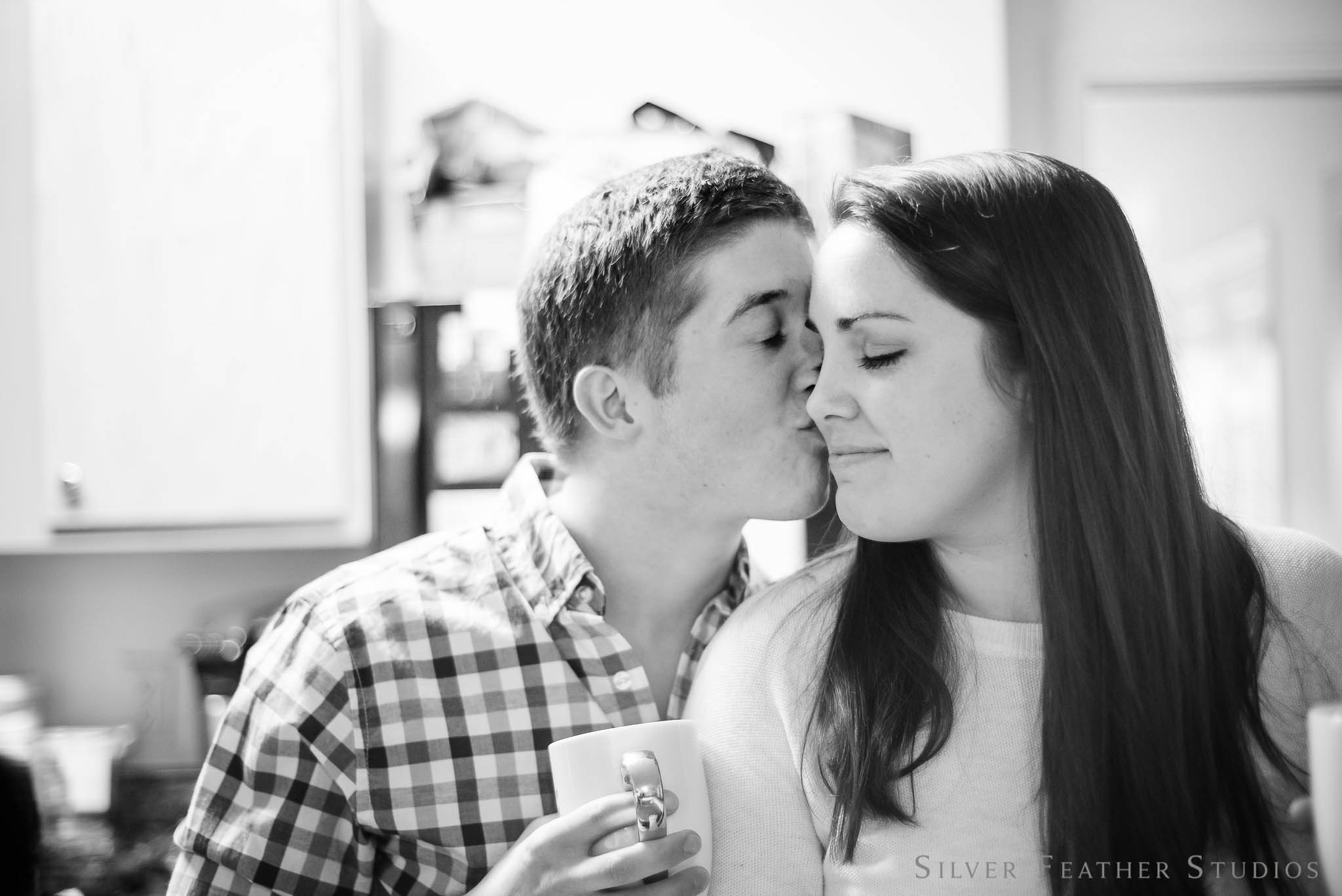 Intimate Engagement Session by Silver Feather Studios, Greensboro NC Wedding Photographer