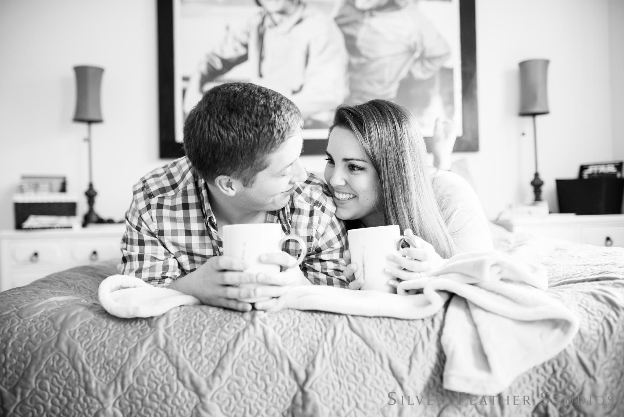 Intimate engagement in Greensboro NC | Silver Feather Studios
