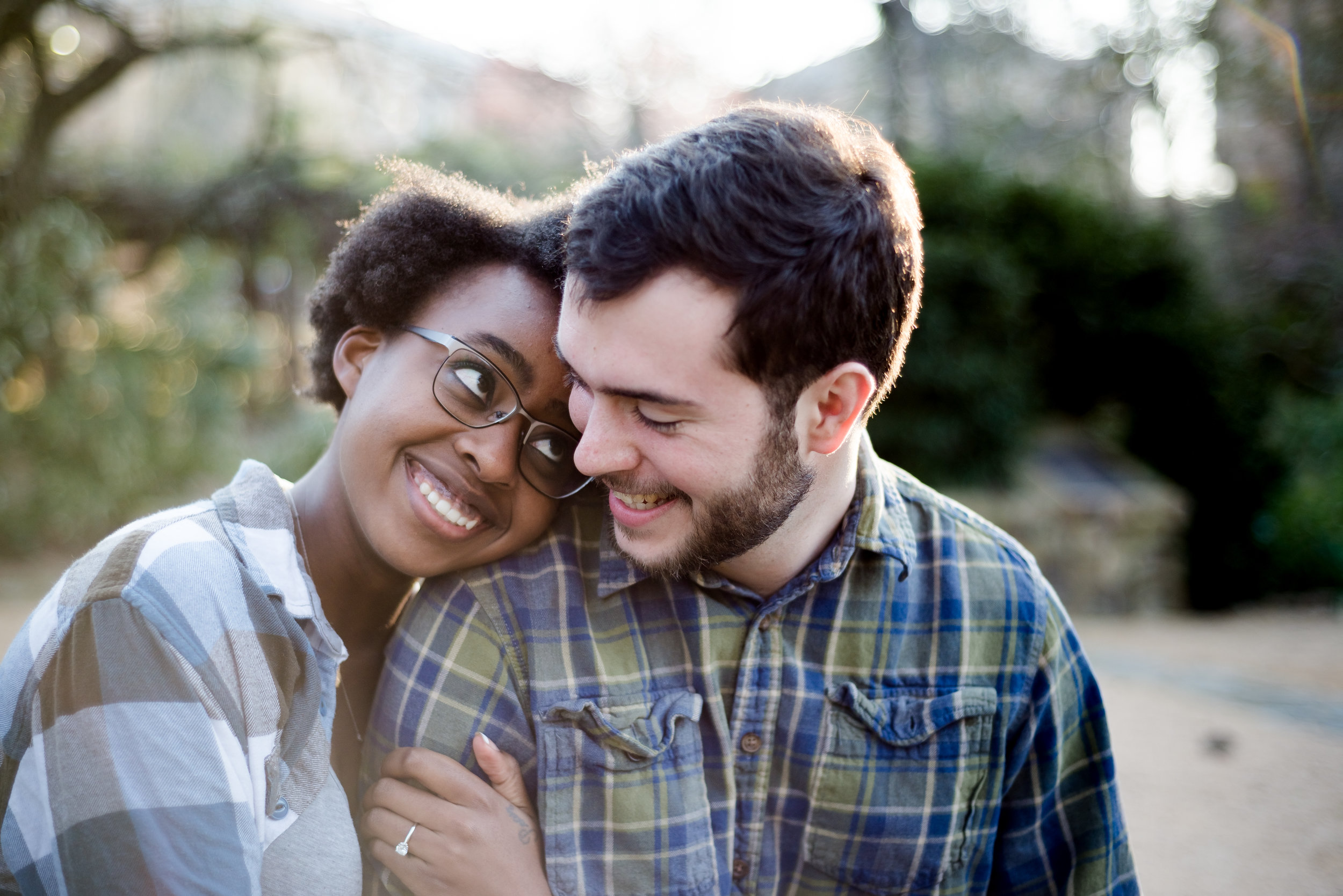 Coker Arboretum Engagement session   NC Wedding Photography by Silver Feather Studios
