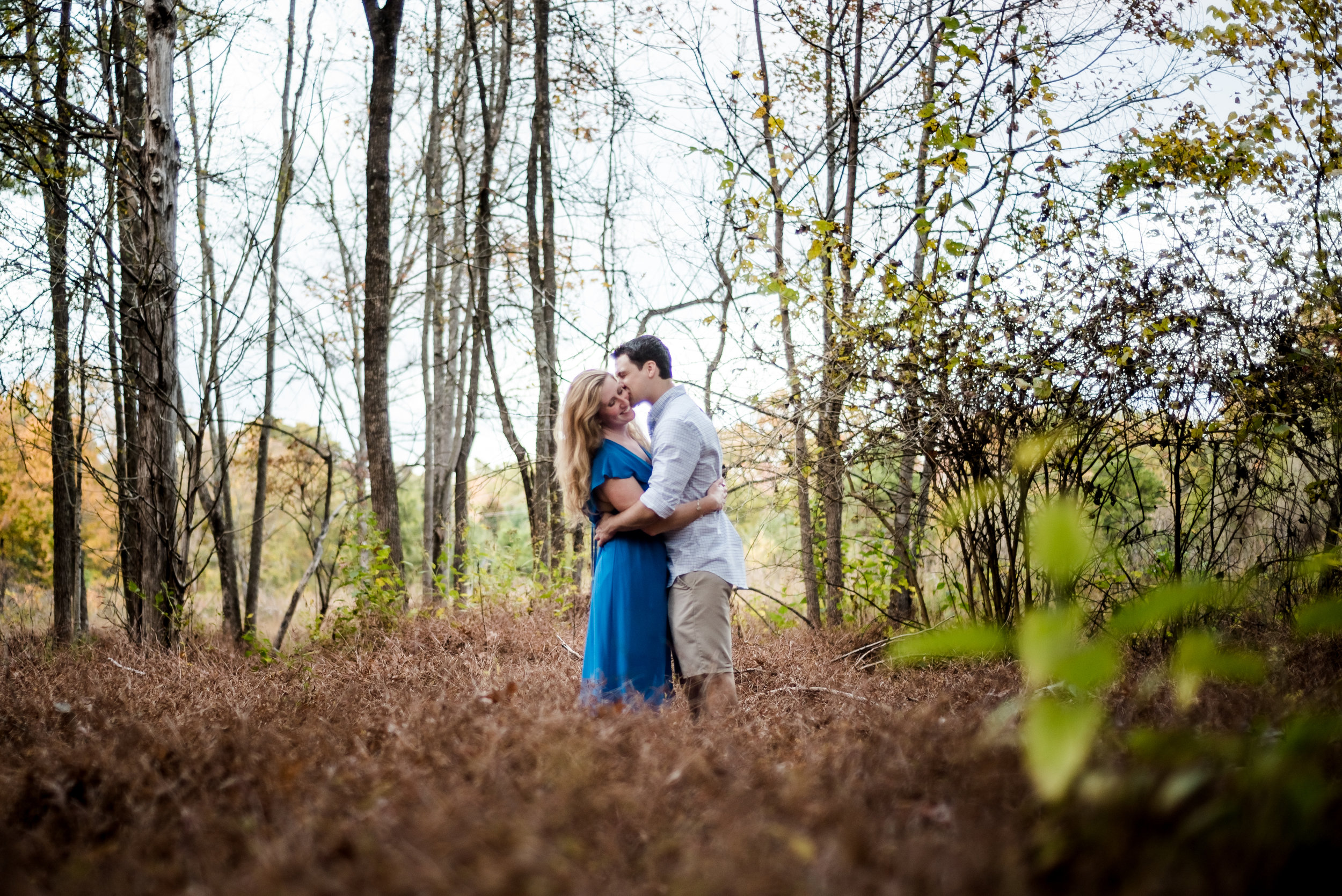 Jessica & Corey's enchanted engagement session in Durham, NC | Durham engagement photographer