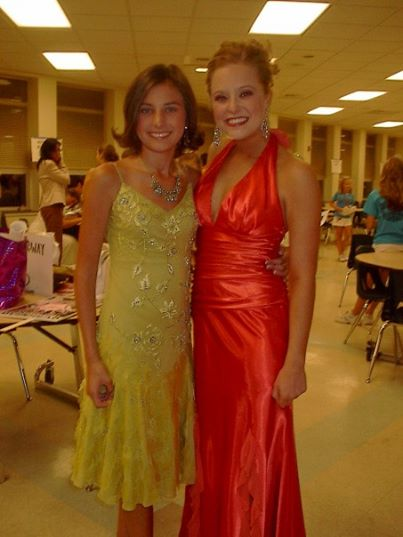 (this is mackenzie and shannon at one of the pa pageant evenings).