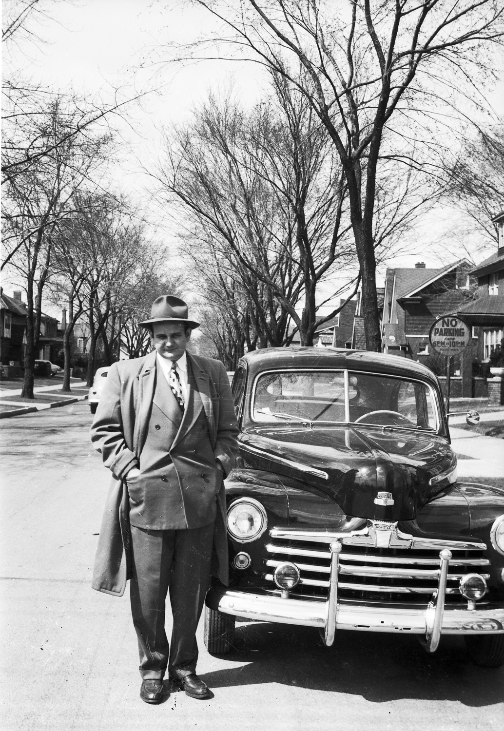 A Well, Dressed Man and his new Ford