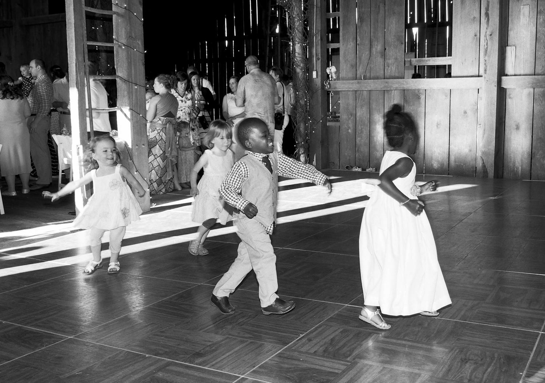 Around the dance floor
