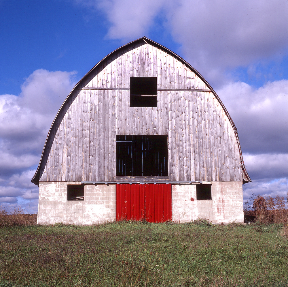 Red Barn on the Prairie
