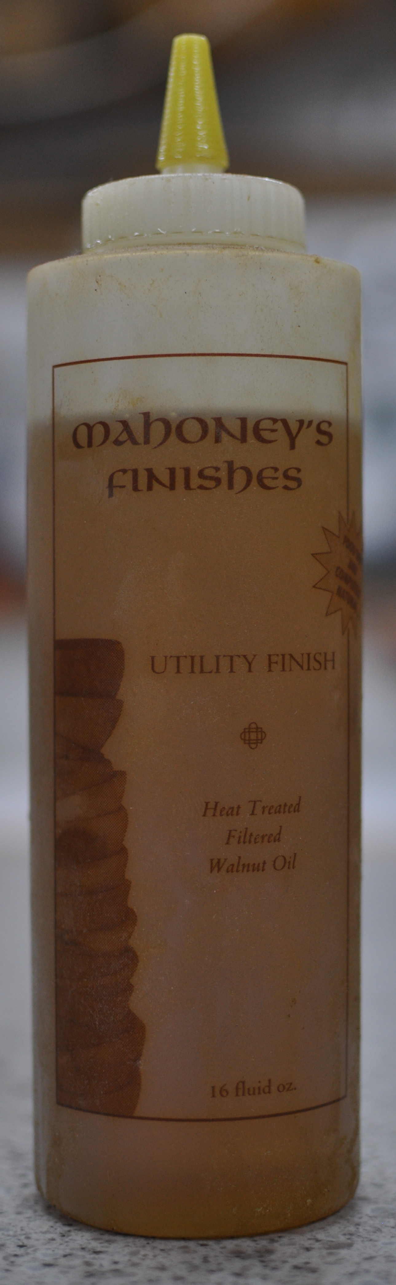 Walnut oil is an excellent utility finish
