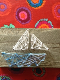 Proportionally challenged sailboat.