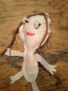 Kate's doll, pre-clothing