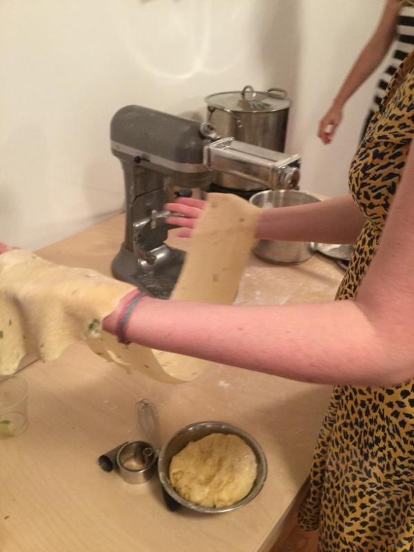 pasta wrangling