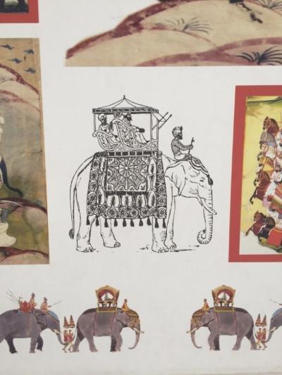 How the maharaja traveled.