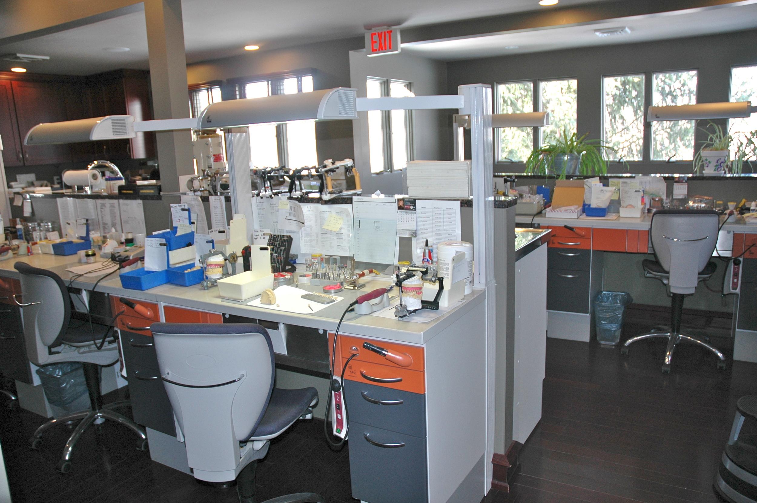 Our on-premesis dental lab