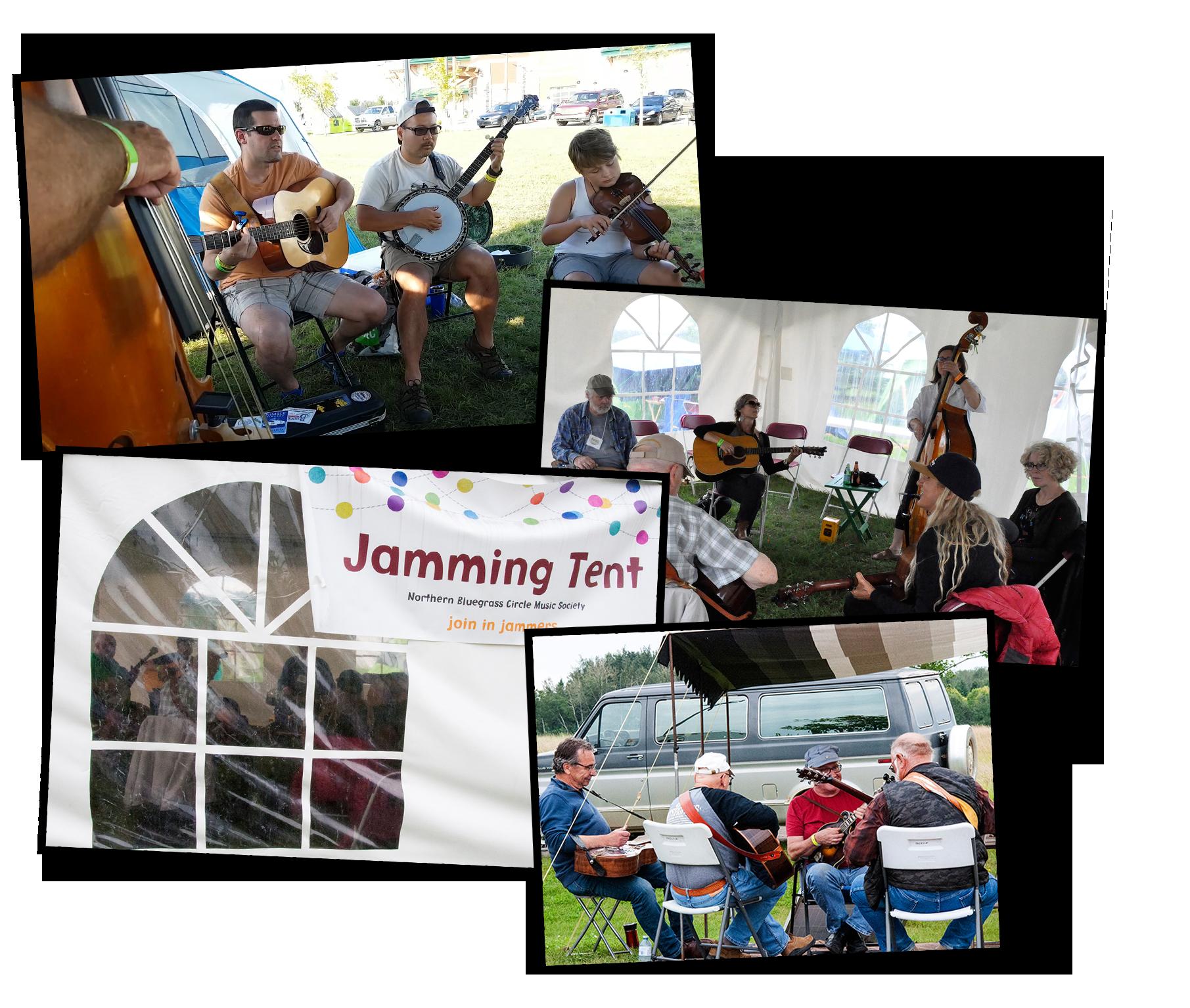 Blueberry Bluegrass Festival - Jamming
