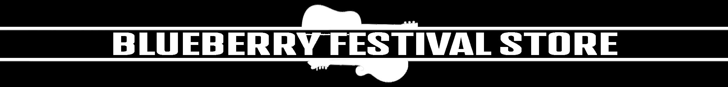 Blueberry Bluegrass Festival - Festival Store