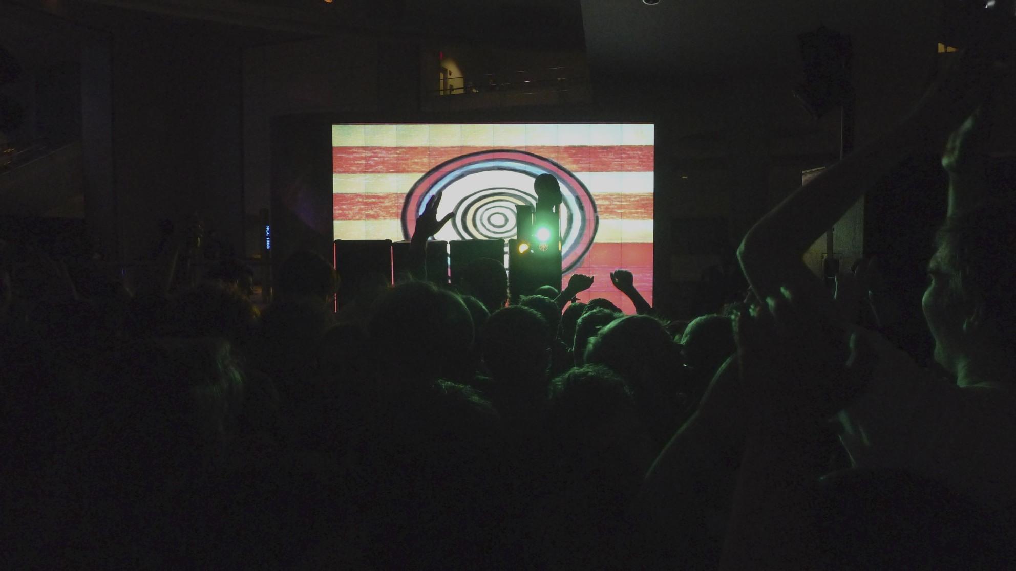 Dan's performance at the Hayden Planetarium, 2011