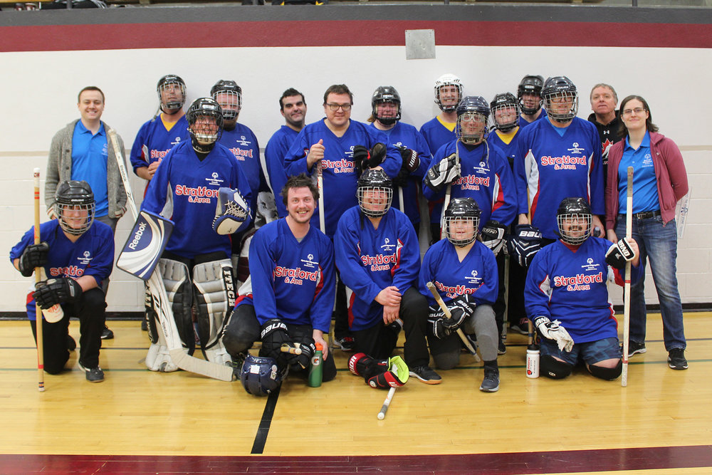Floor Hockey 2019 Special Olympics Ontario Stratford Area