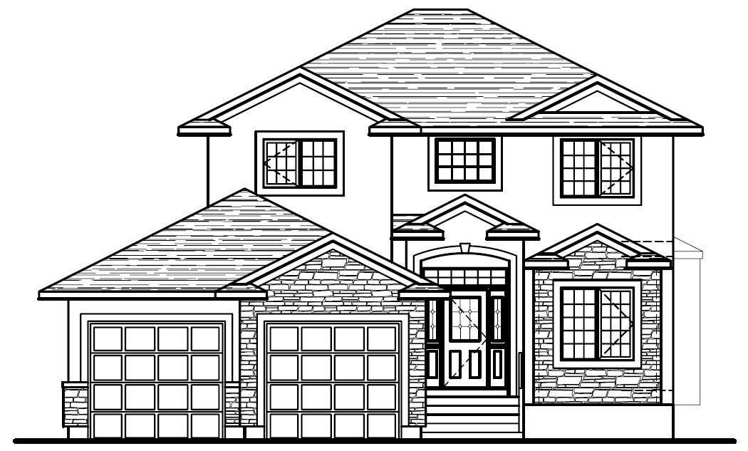 House plan: Roy