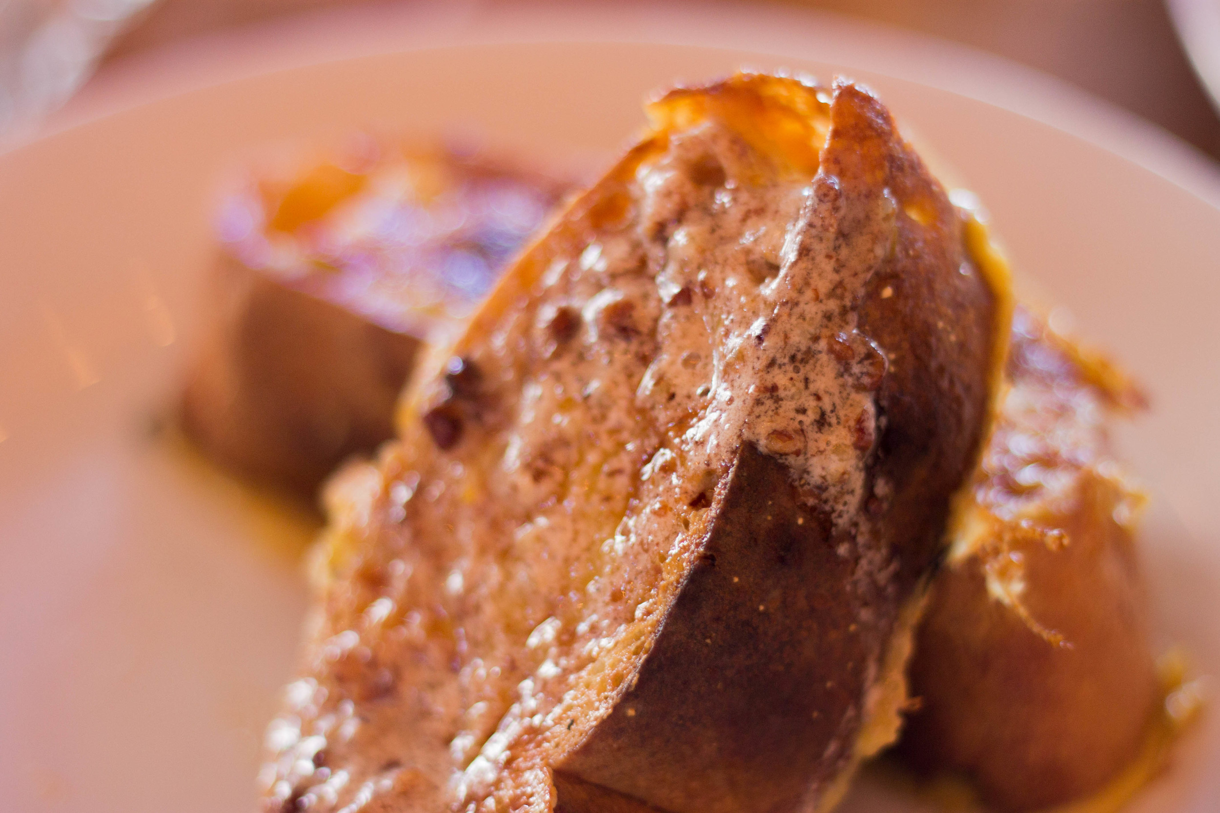 French Toast at Blue Bird Bistro