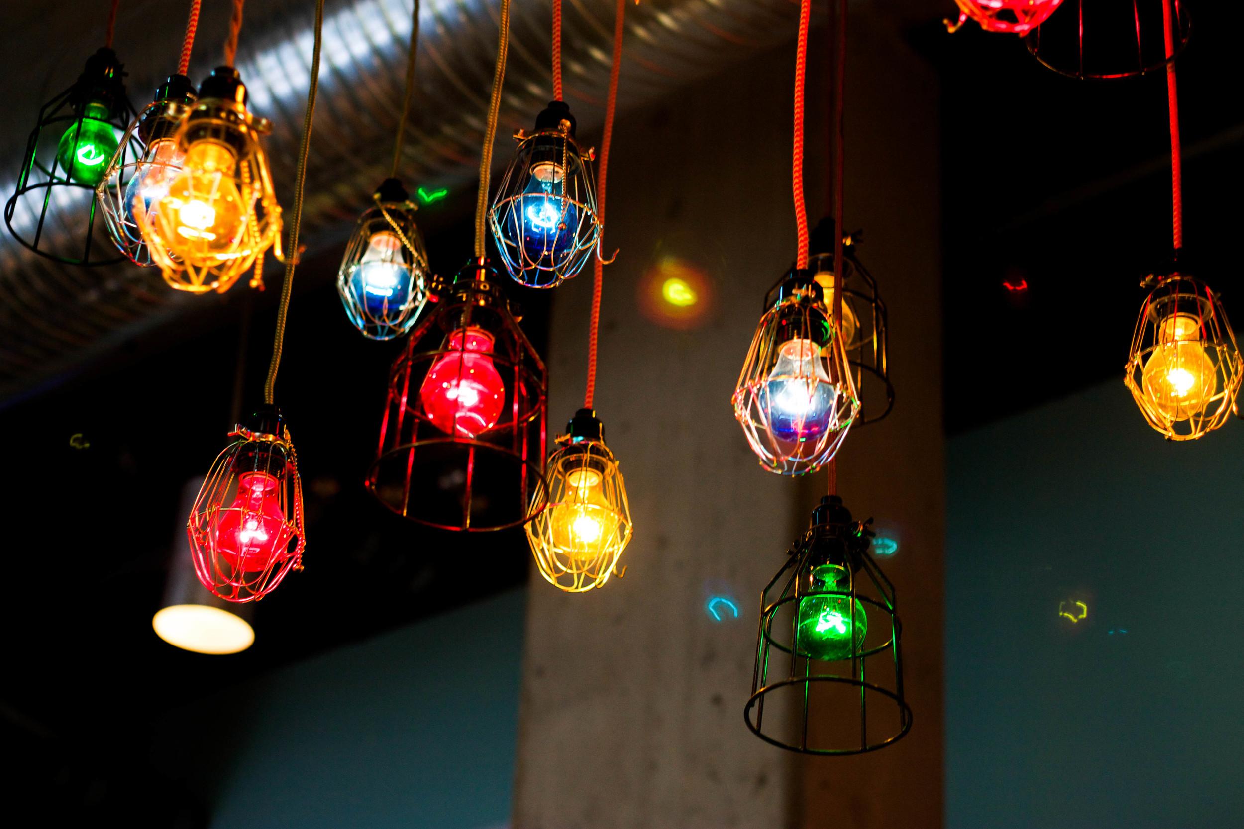 Low Hanging Lights at Port Fonda
