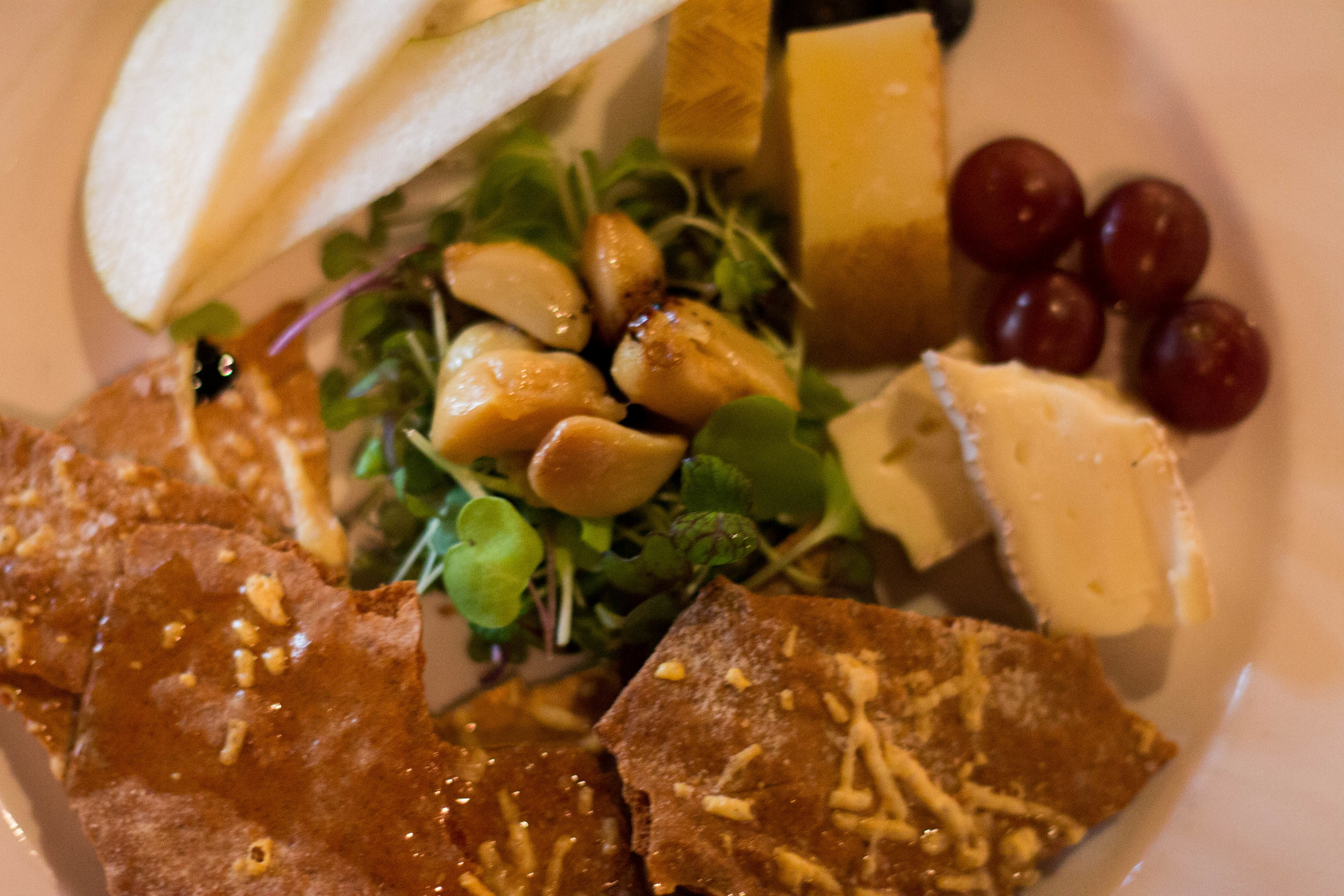 Build-your-own cheese plate at Westside Local