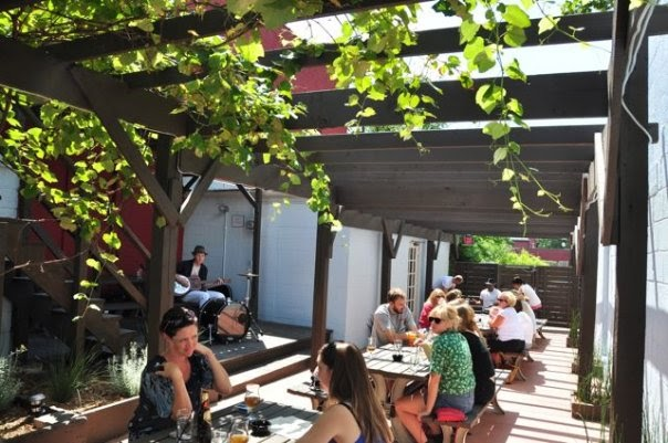 Westside Local Patio (Photo Credit CowTown Chow)