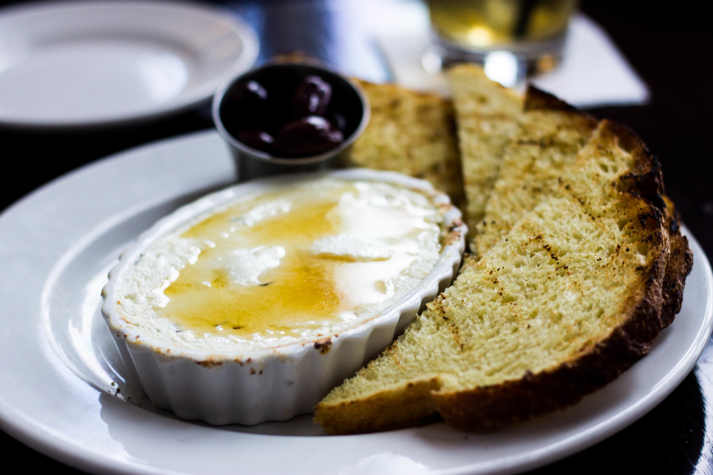 Goat Cheese and Honey at Westport Cafe and Bar