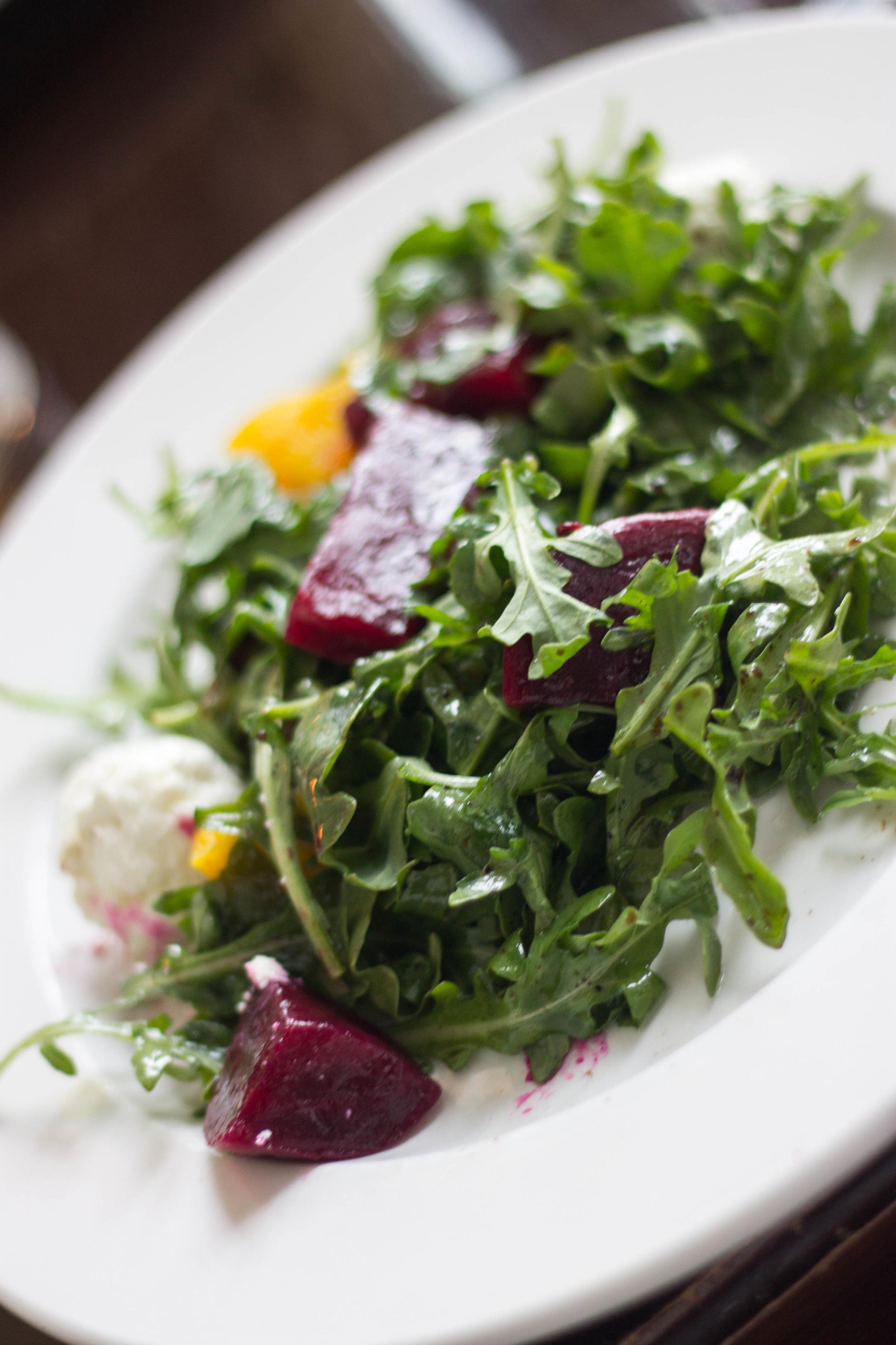 Roasted Beets Salad at Westport Cafe and Bar