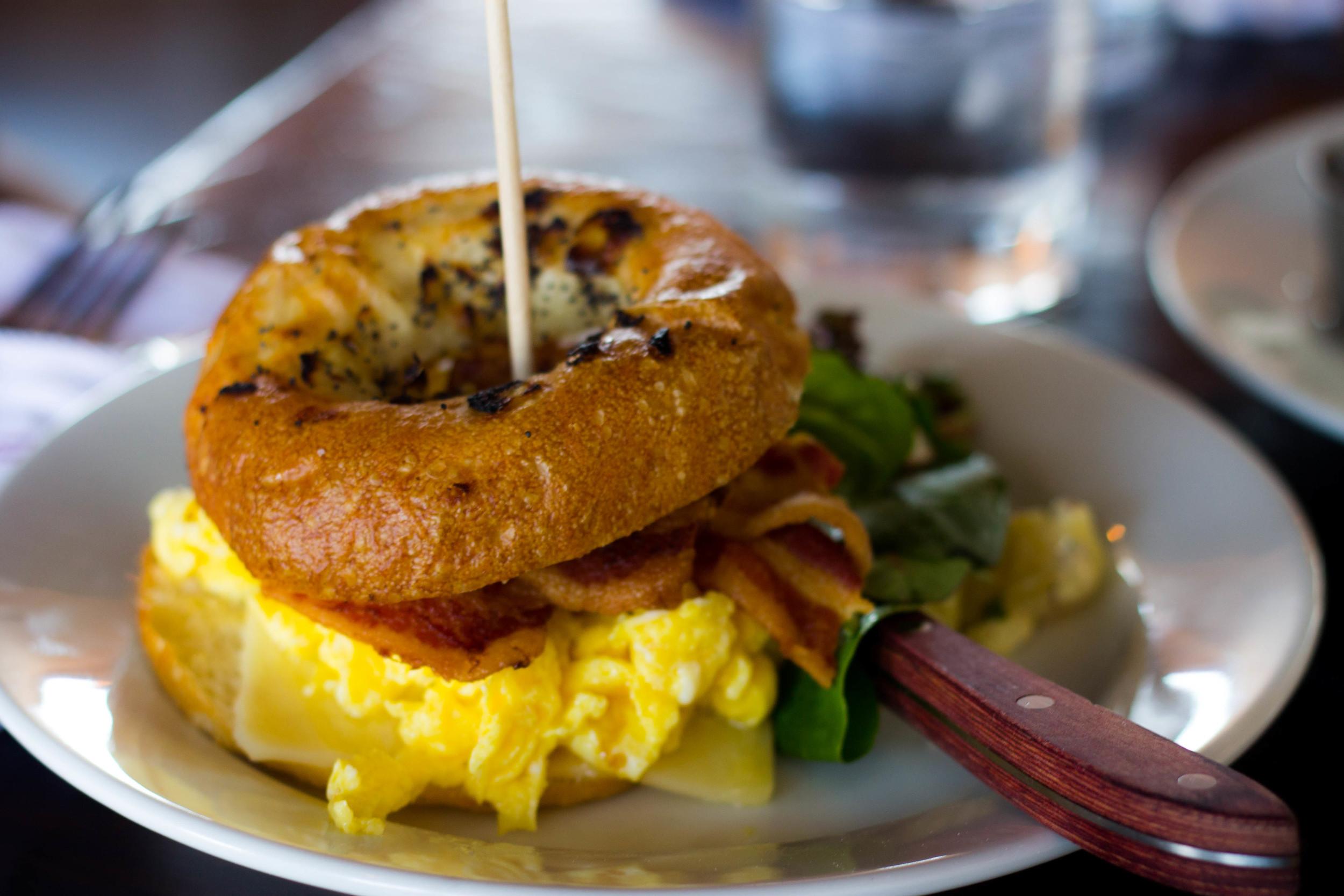 BRG Breakfast Sandwich