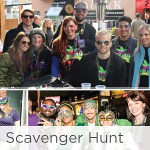 Mardi Gras Scavenger Hunt