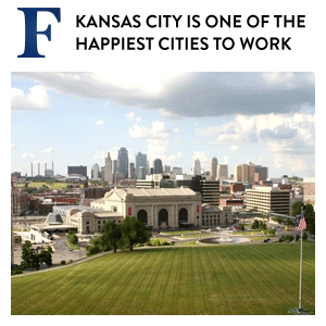 Kansas City Happiest Places to Work