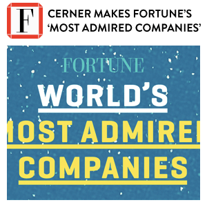 Cerner Most Admired Companies