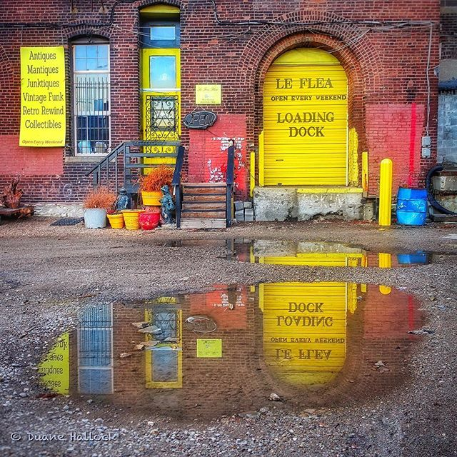 Juuust a few of these April showers left. #FirstFriday next week looking nice 🌦⛅️🌤☀️ Photo by @duanehallock
