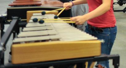 An Adams Artist Series Pedal Glockenspiel