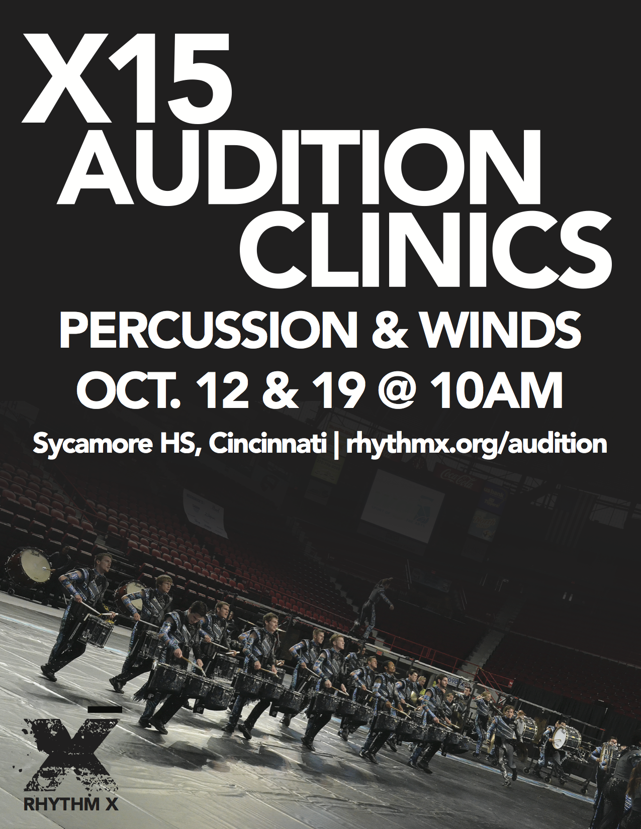 Audition Poster. ( Download a PDF here. )