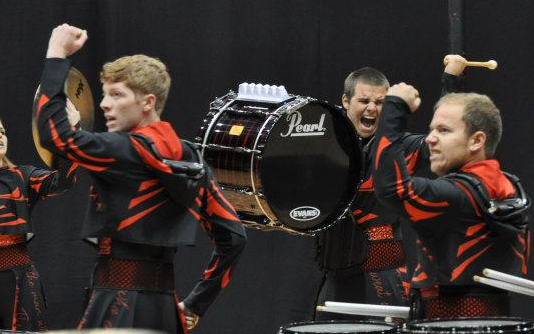 Tant (left) and Roam (middle) perform in the 2013 MEPA Championships.