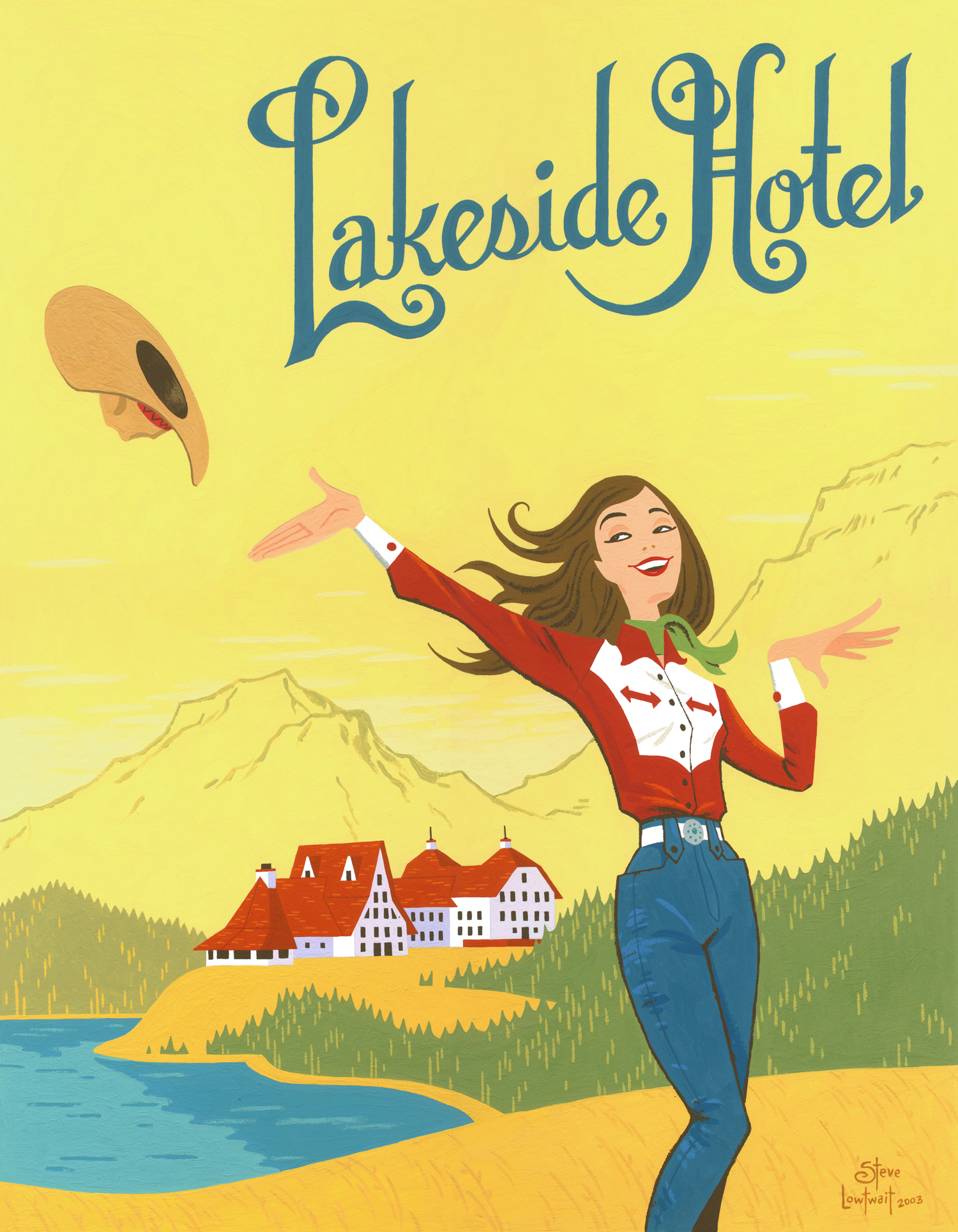SOLD  • Lakeside Hotel.