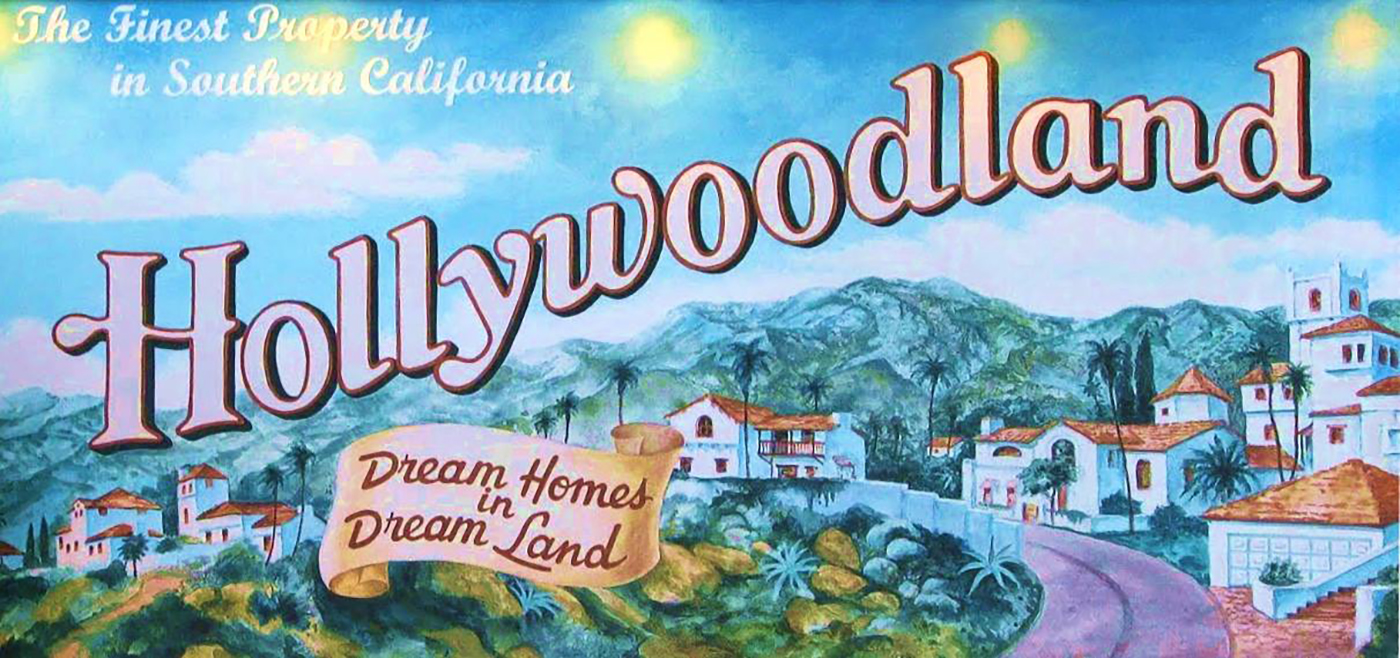 A fun billboard at Disney's California Adventure park.