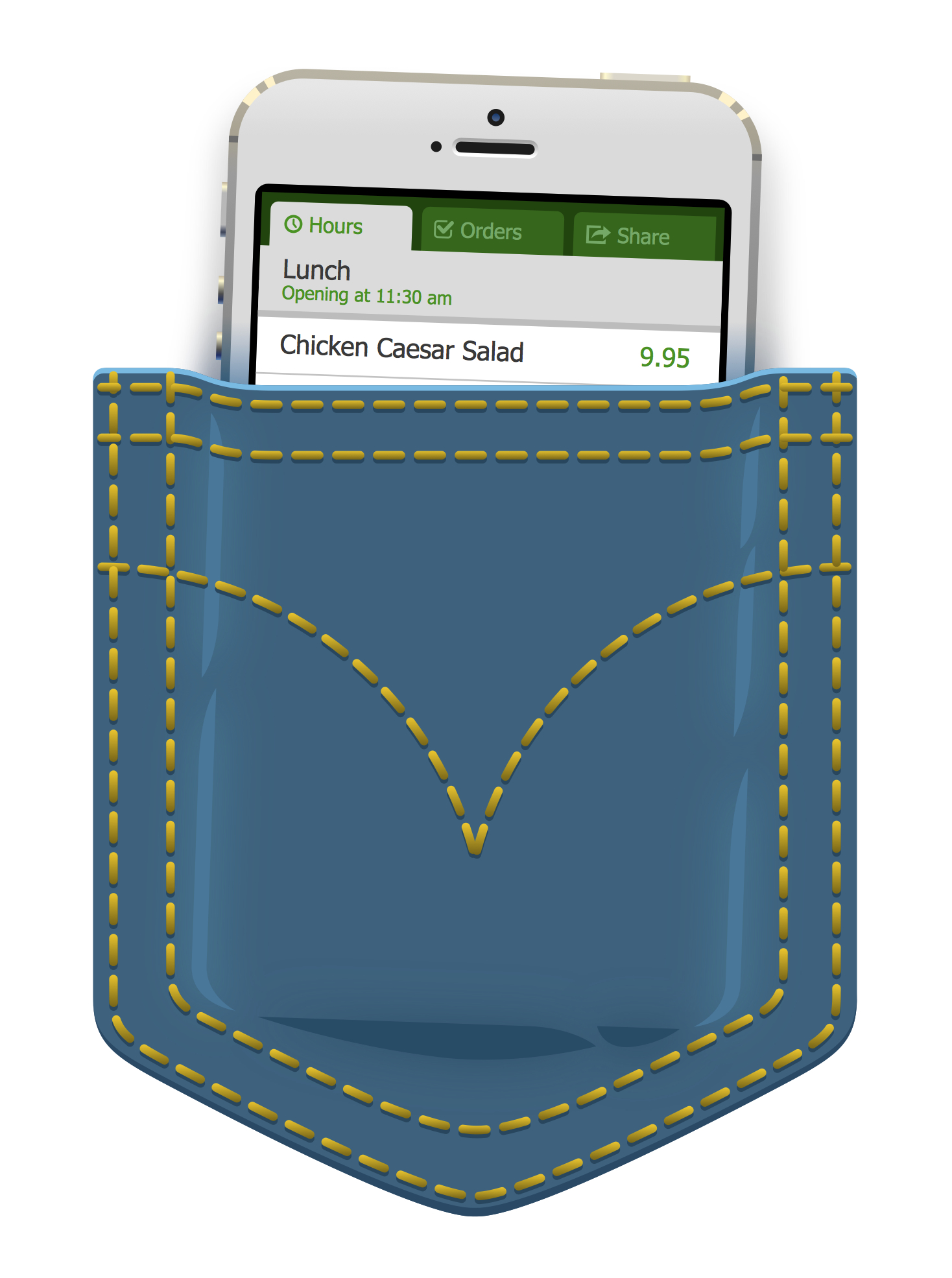 Mobile Menu  • Restaurant menus in your pocket.  Client: OrdrUs