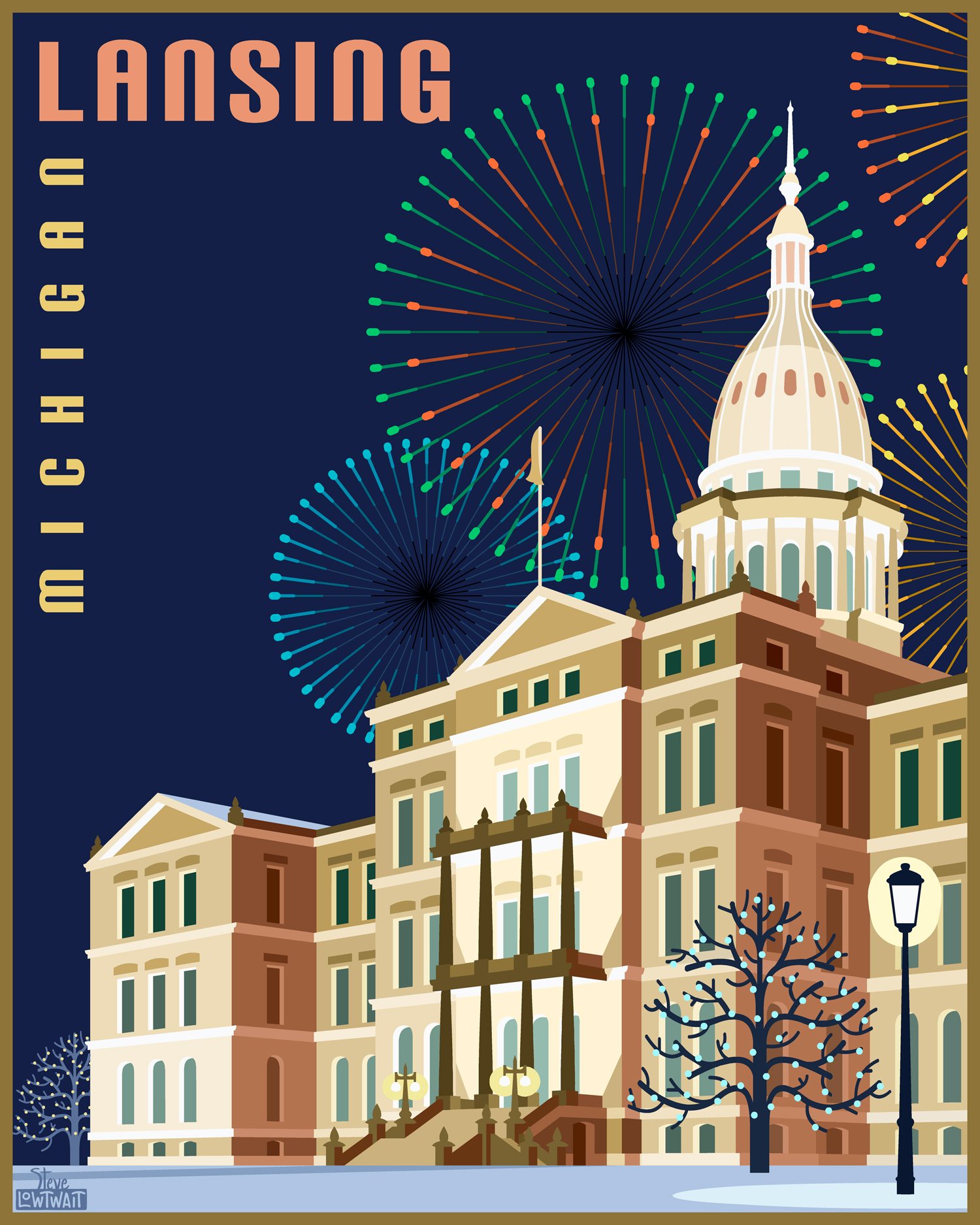 Michigan State Capitol, Lansing •  Buy  •  Private commission