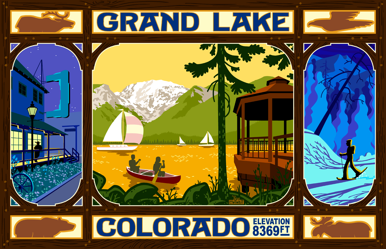 Grand Lake, Colorado •  Buy