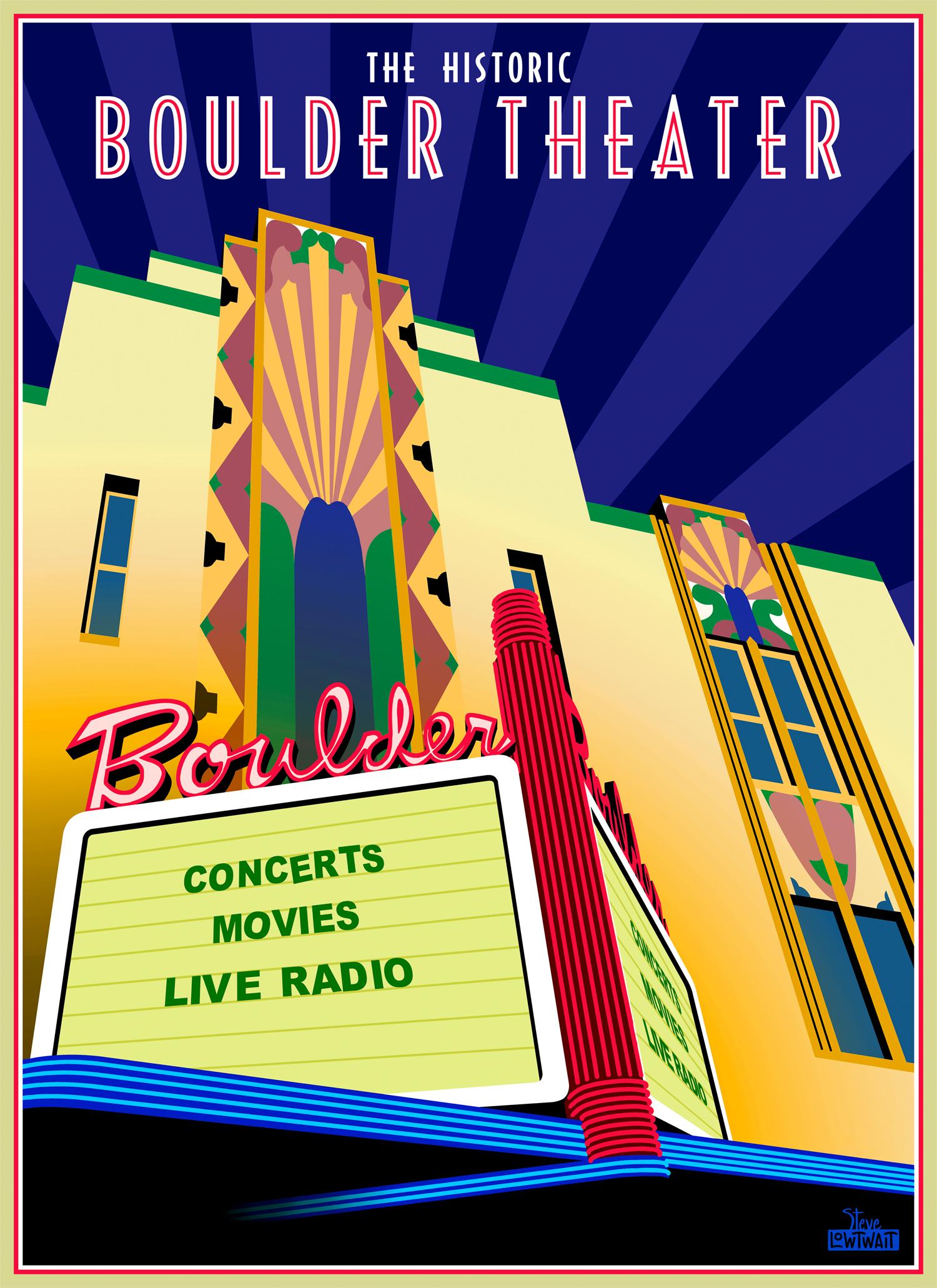 Boulder Theater •  Buy