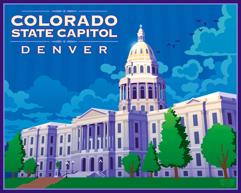 Colorado State Capitol, Denver •  Buy  •  Private commission