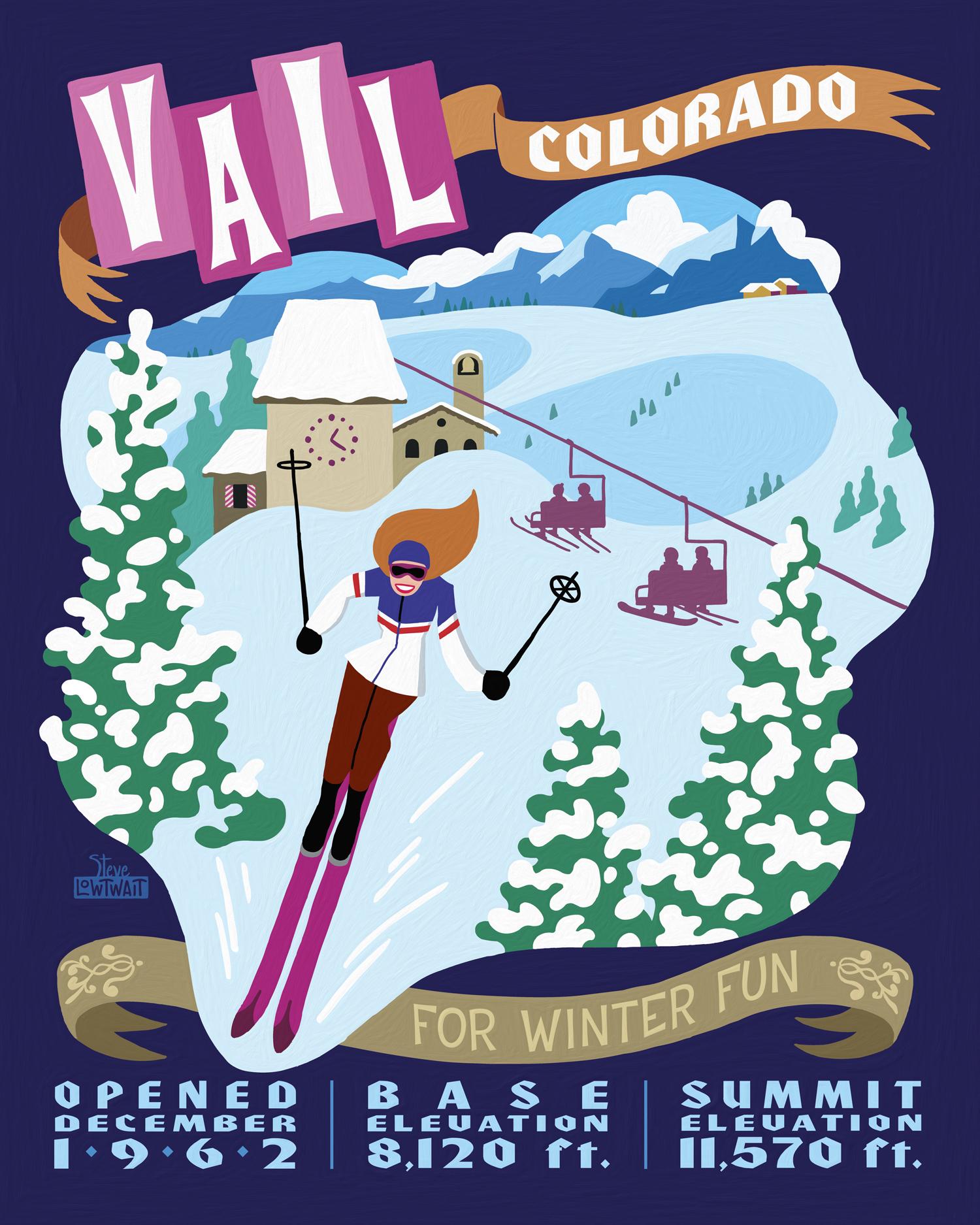 Ski Vail, Colorado •  Buy