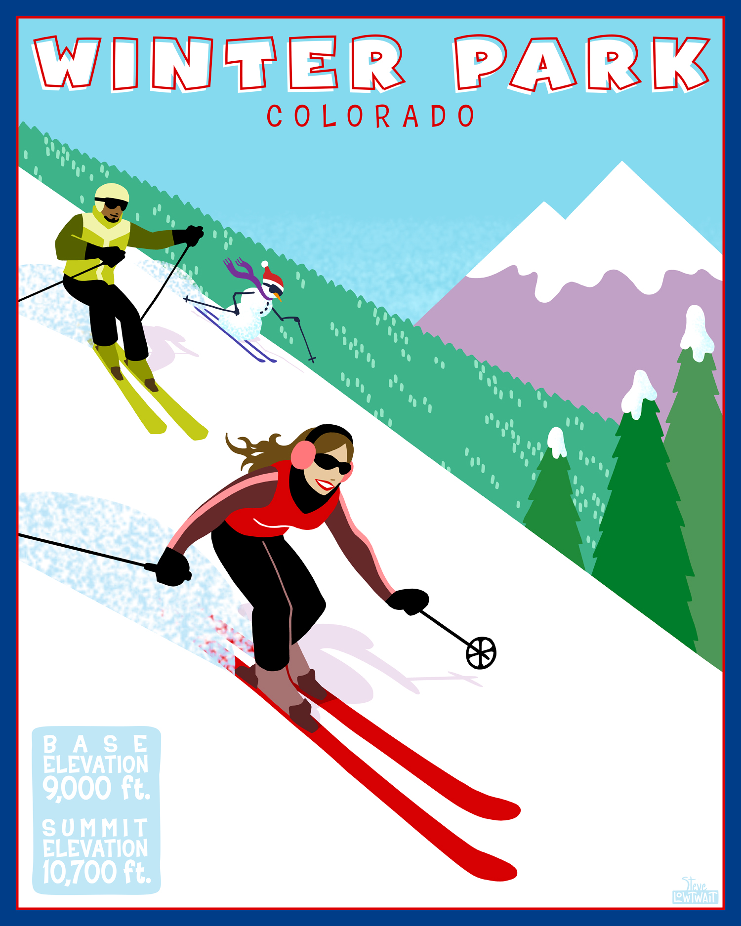 Ski Winter Park, Colorado •  Buy