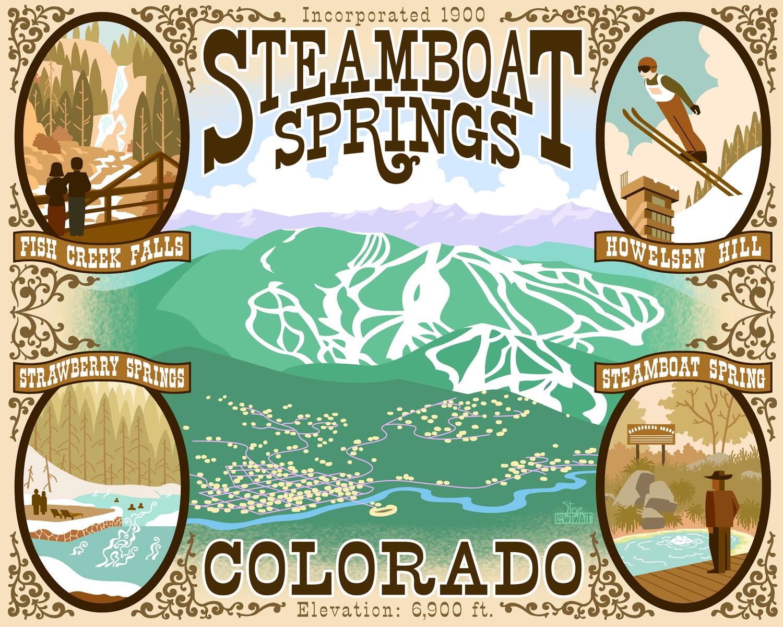 Ski Steamboat Springs, Colorado •  Buy