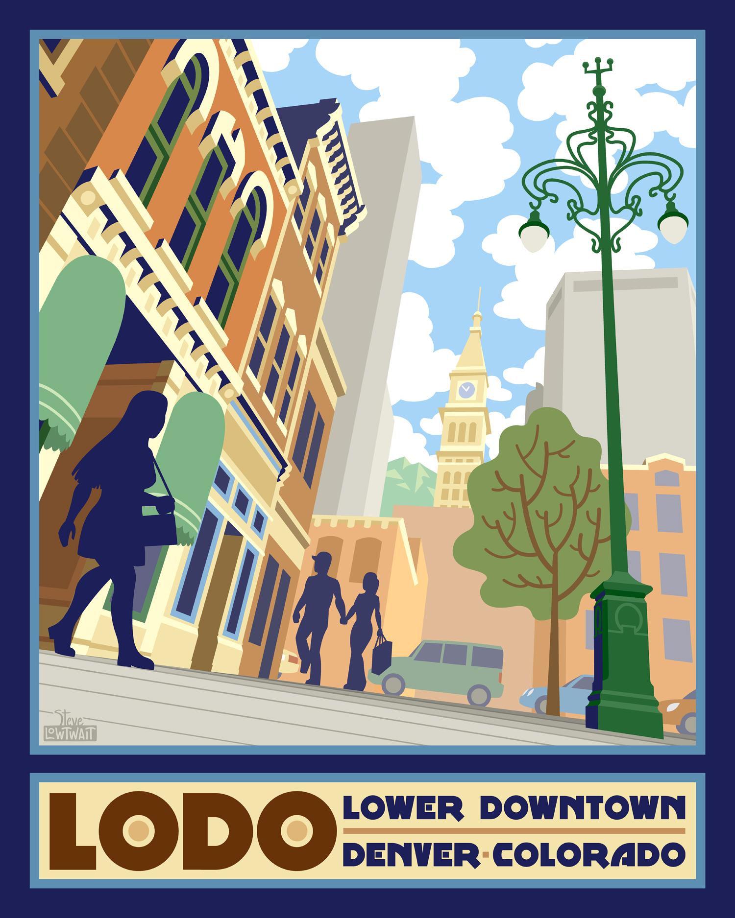 LODO - Denver, Colorado •  Buy