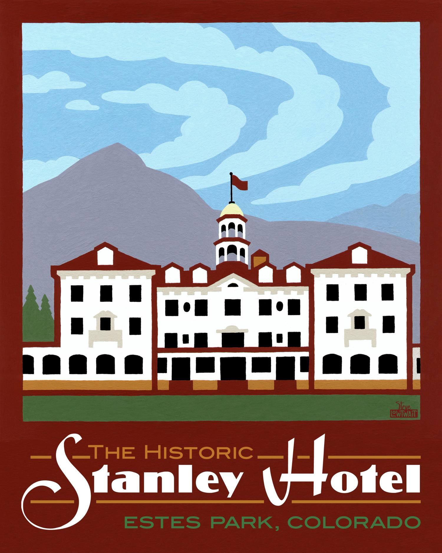Stanley Hotel - Estes Park, Colorado •  Buy