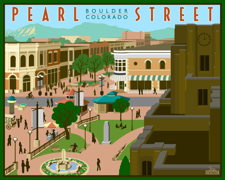 Pearl Street Mall - Boulder, Colorado •  Buy